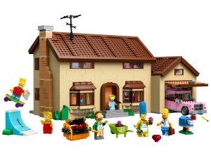 lego het huis van the simpsons 71006