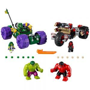 lego hulk vs red hulk 76078