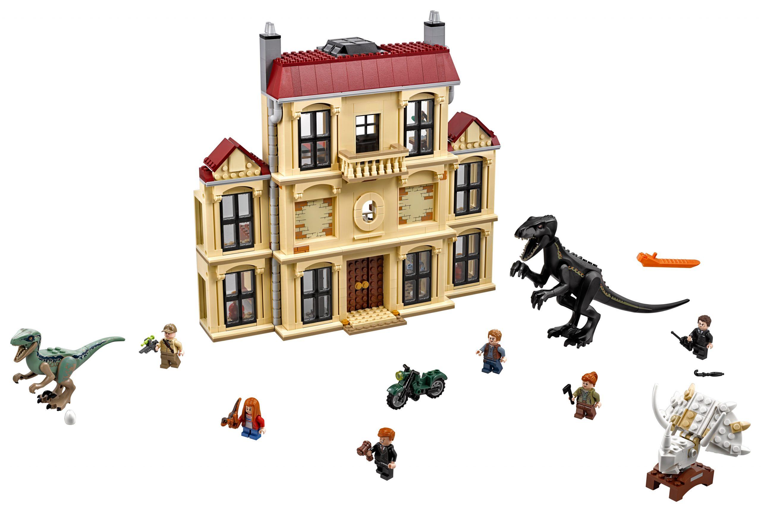 lego indoraptorchaos bij lockwood estate 75930 scaled