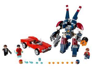 lego iron man detroit steel valt aan 76077