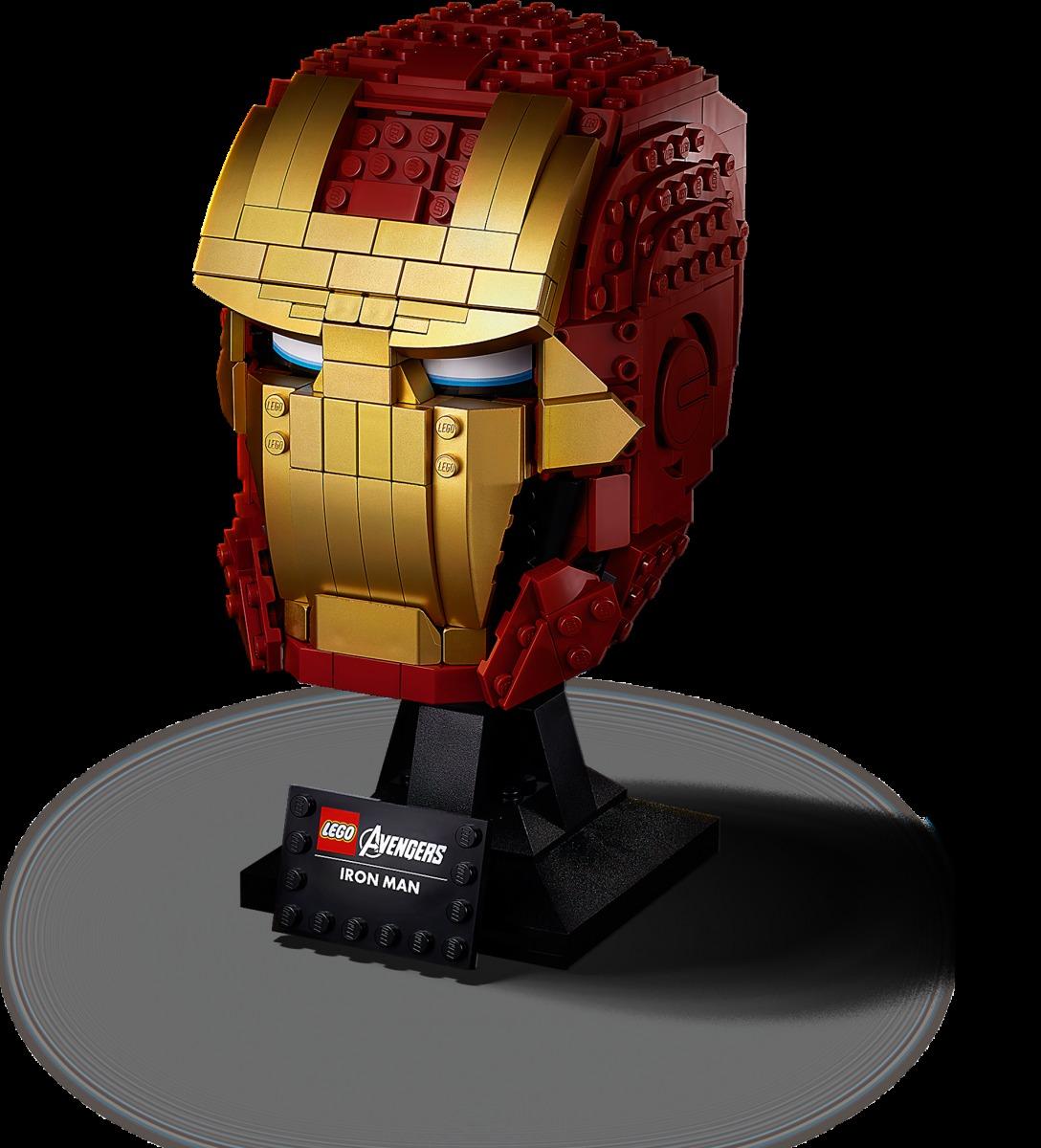 lego iron man helm 76165