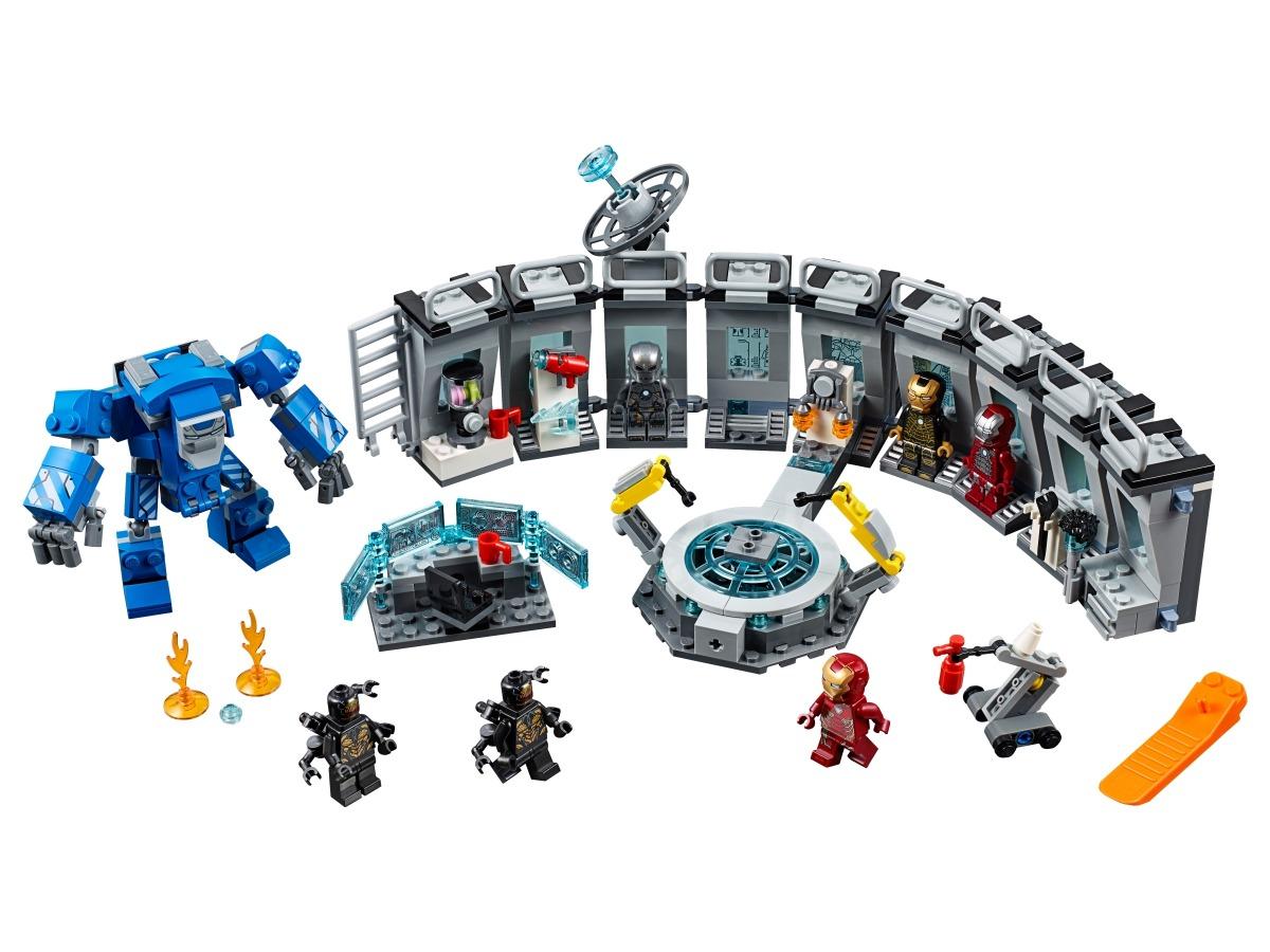lego iron man labervaring 76125