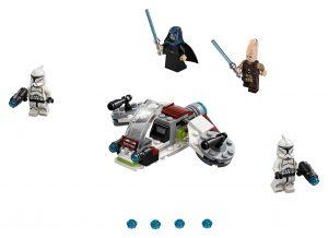 lego jedi en clone troopers battle pack 75206