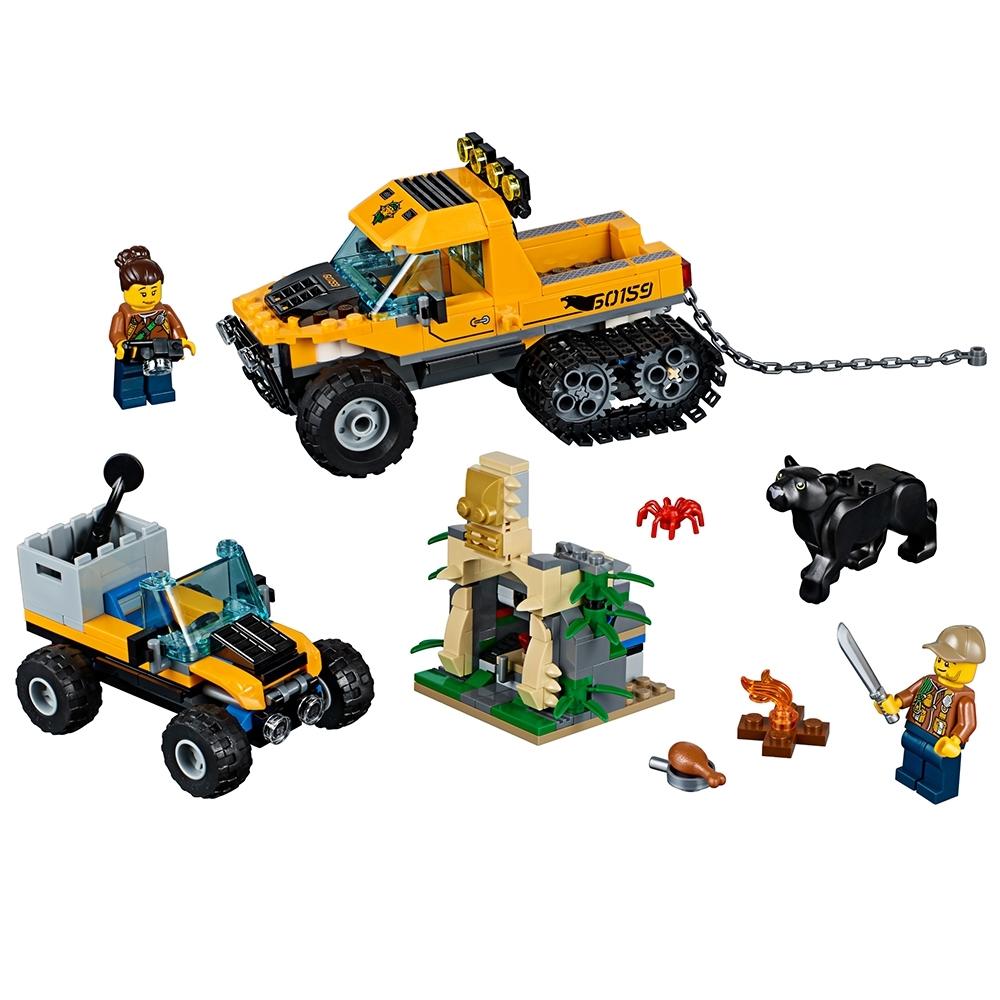 lego jungle missie met halfrupsvoertuig 60159