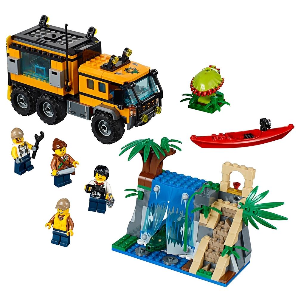 lego jungle mobiel laboratorium 60160