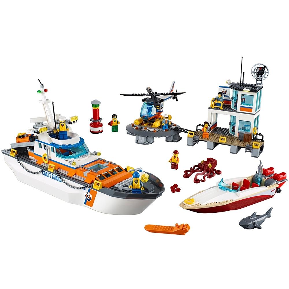 lego kustwacht hoofdkwartier 60167