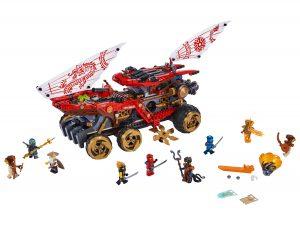 lego landbounty 70677