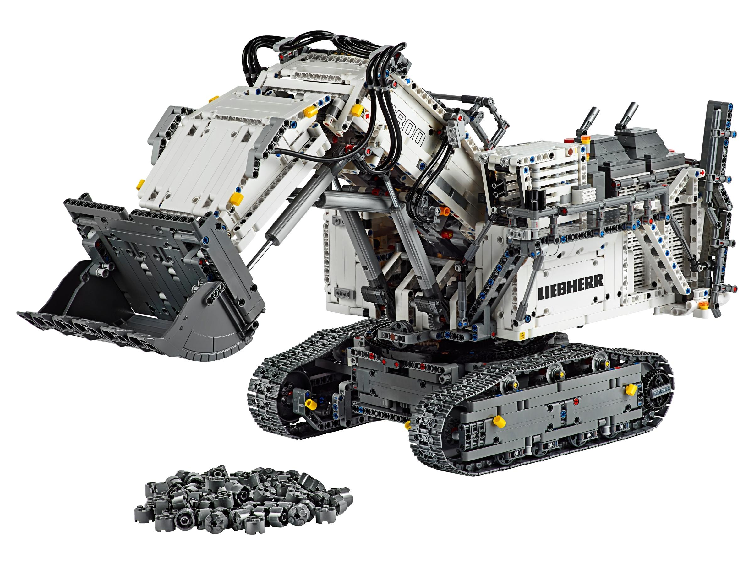 lego liebherr r 9800 graafmachine 42100