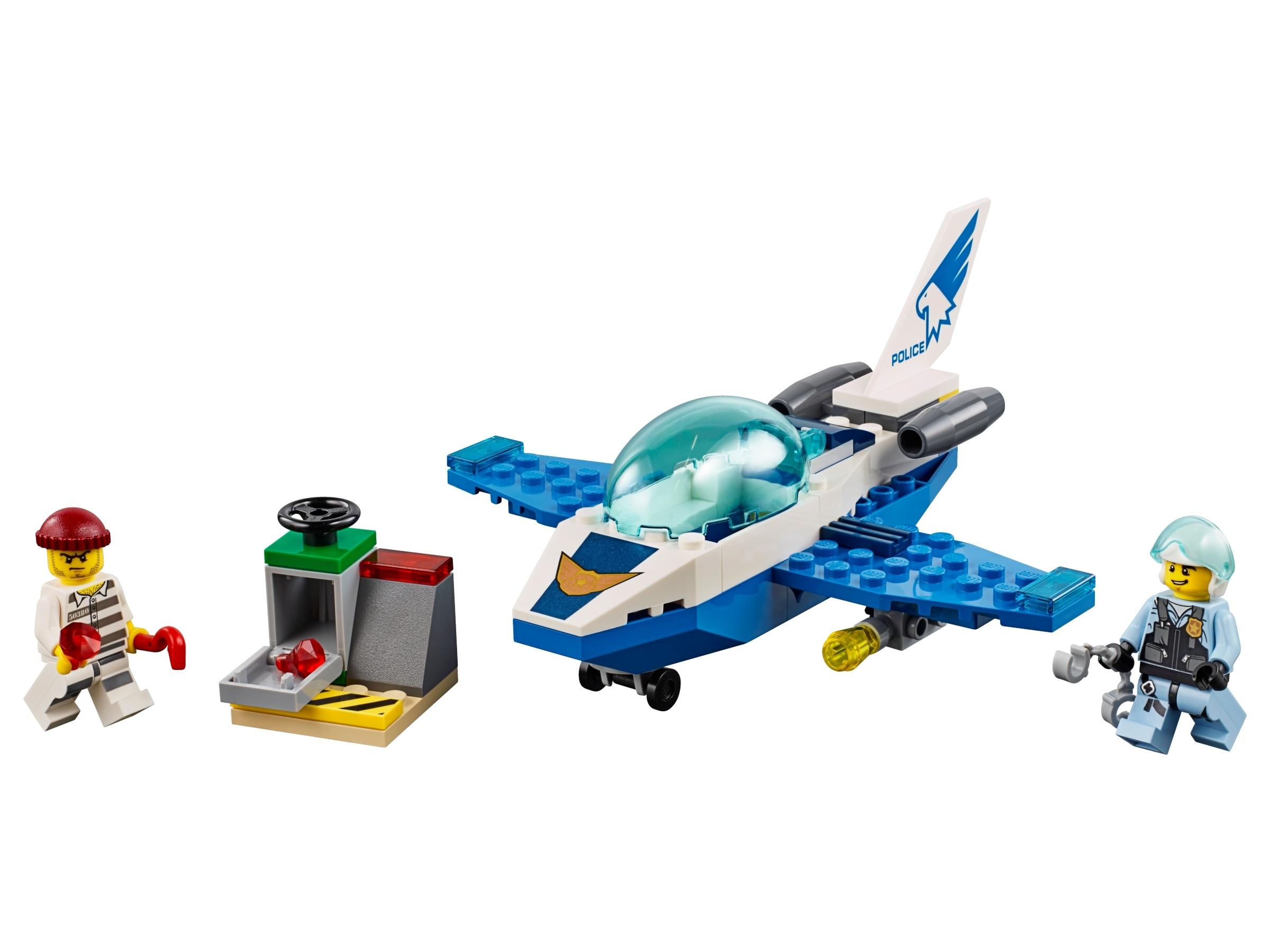 lego luchtpolitie vliegtuigpatrouille 60206