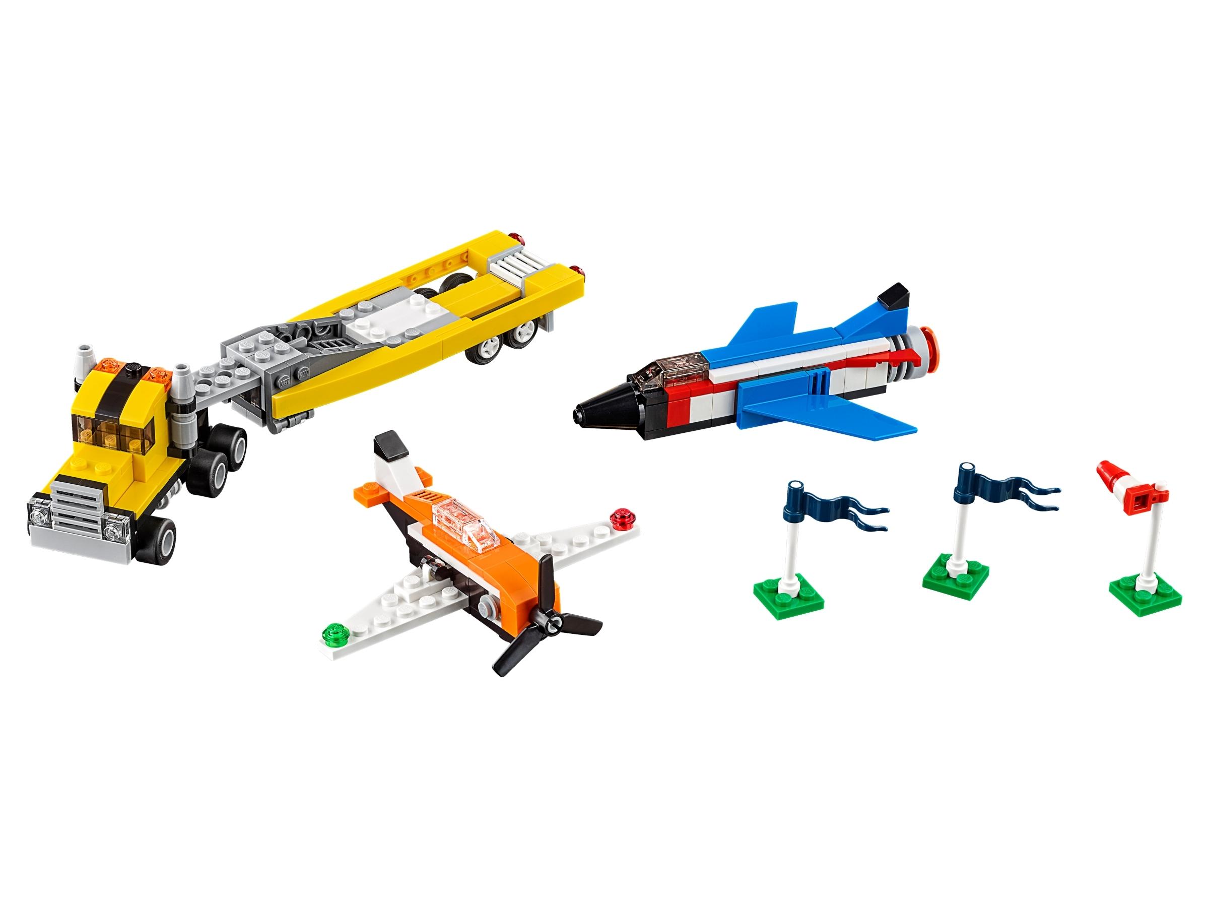 lego luchtvaartshow 31060