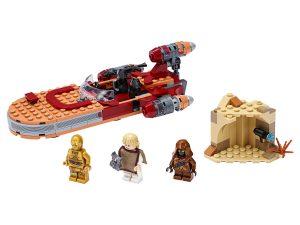 lego luke skywalkers landspeeder 75271