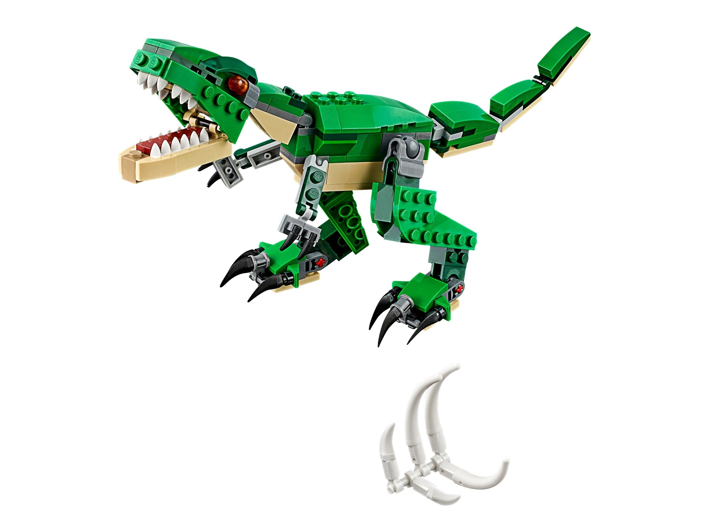 lego machtige dinosaurussen 31058