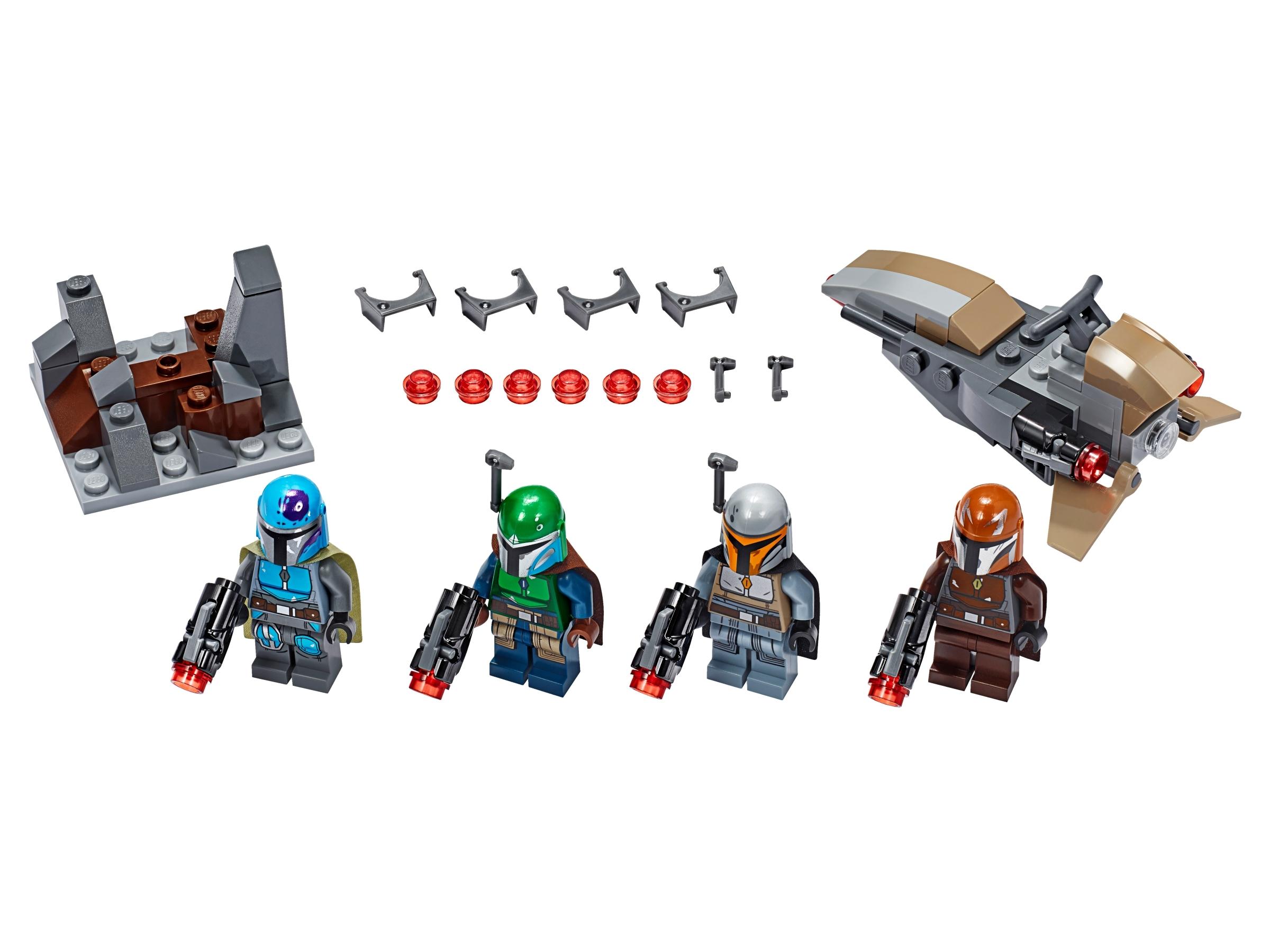 lego mandalorian battle pack 75267