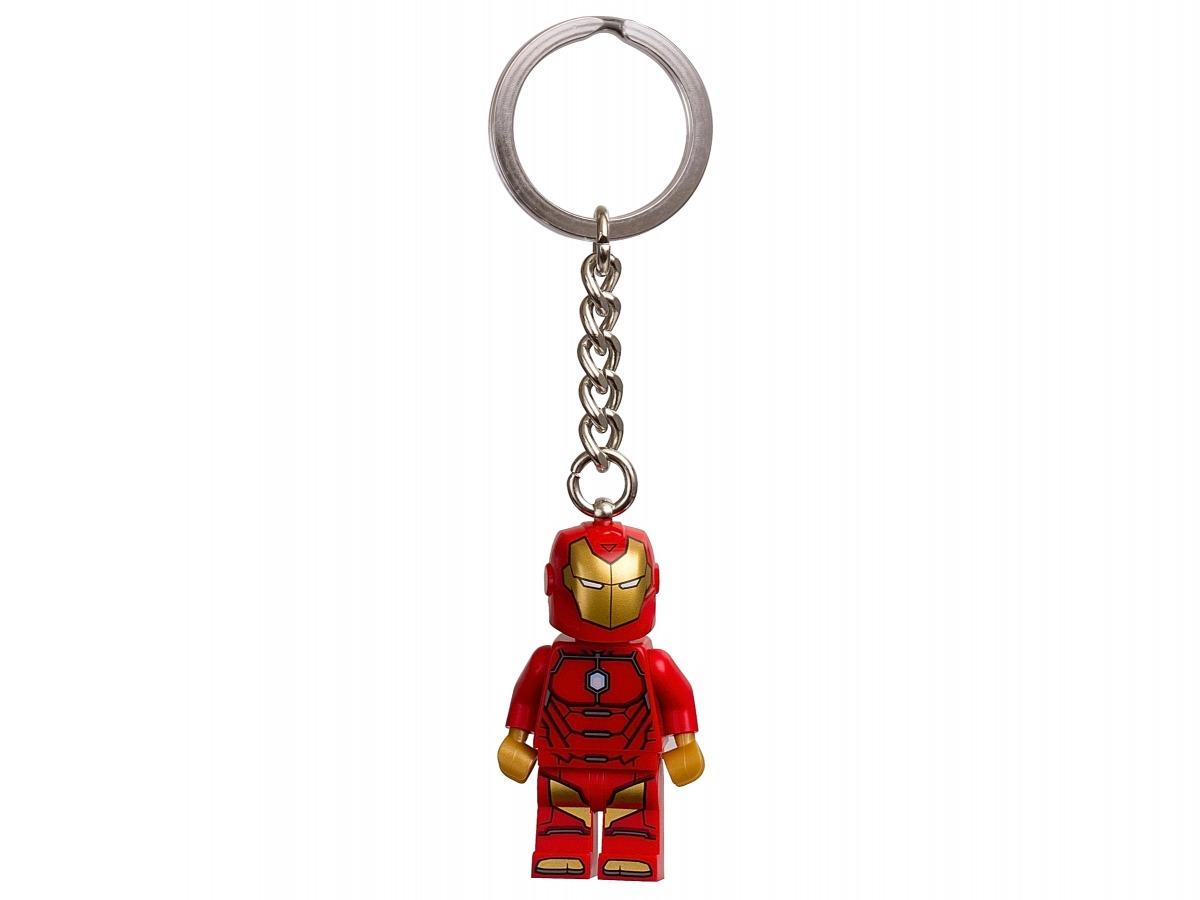 lego marvel super heroes onoverwinnelijke iron man sleutelhanger 853706