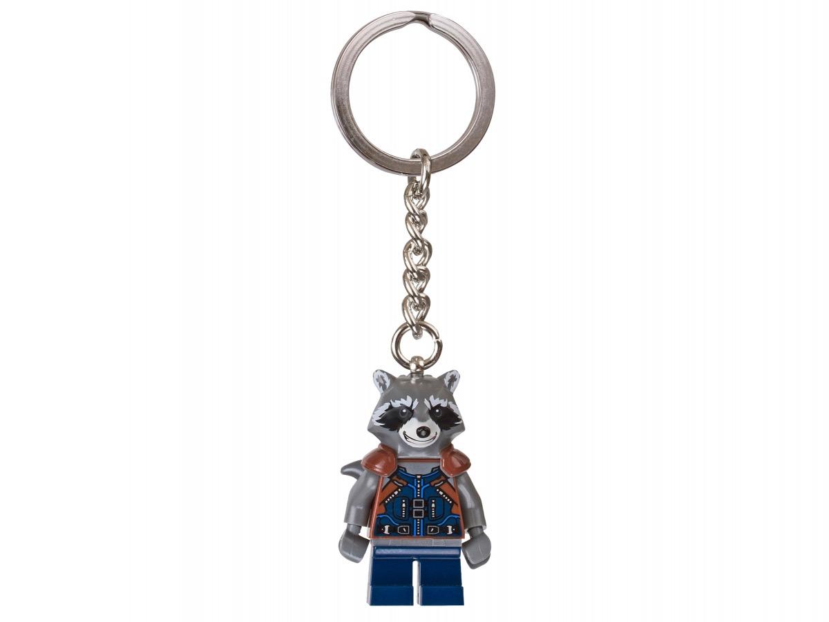 lego marvel super heroes rocket sleutelhanger 853708