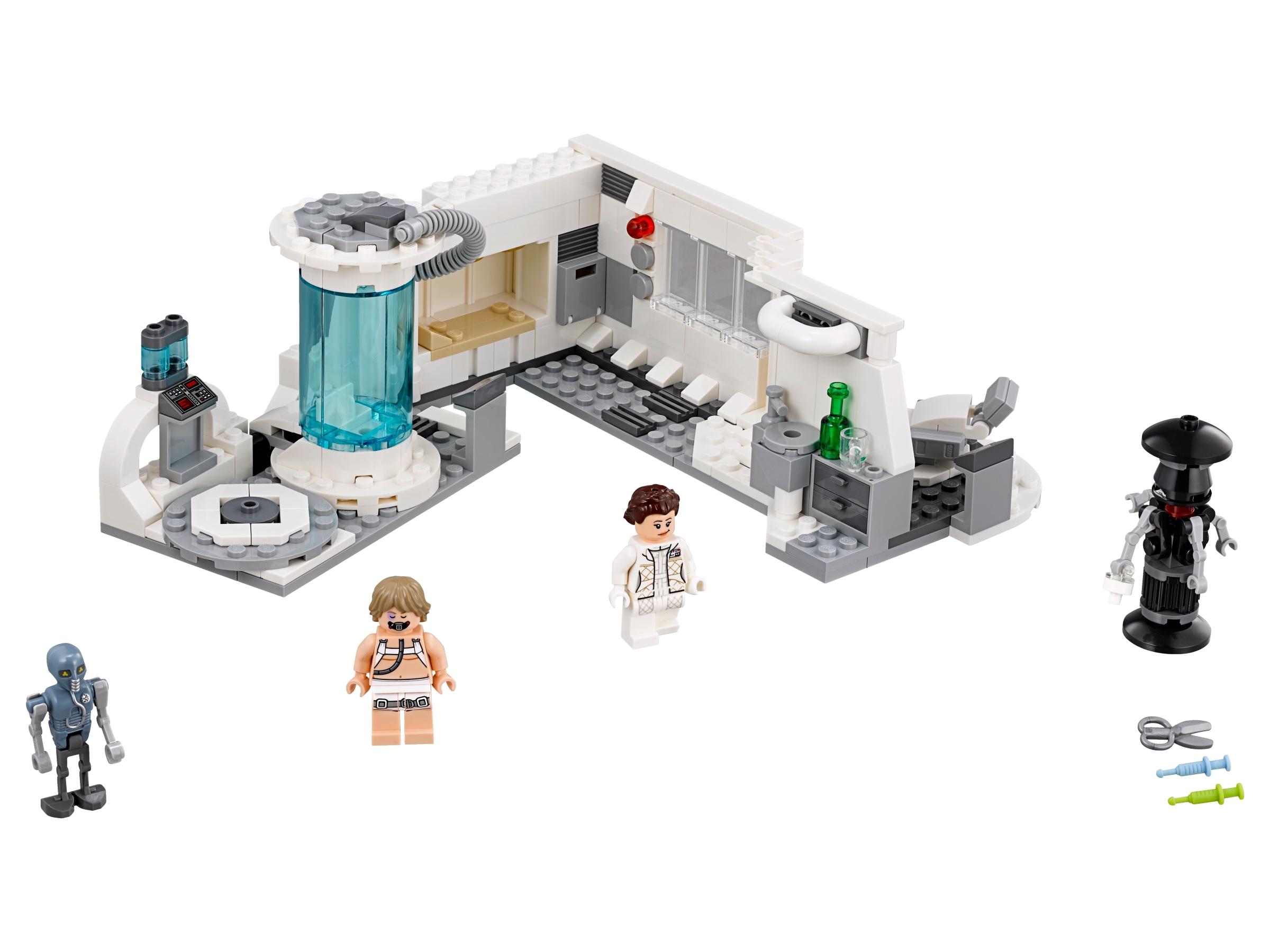 lego medische ruimte op hoth 75203