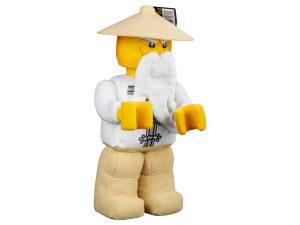lego meester wu minifiguur van zachte stof 853765