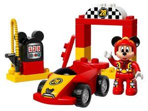 lego mickeys racewagen 10843