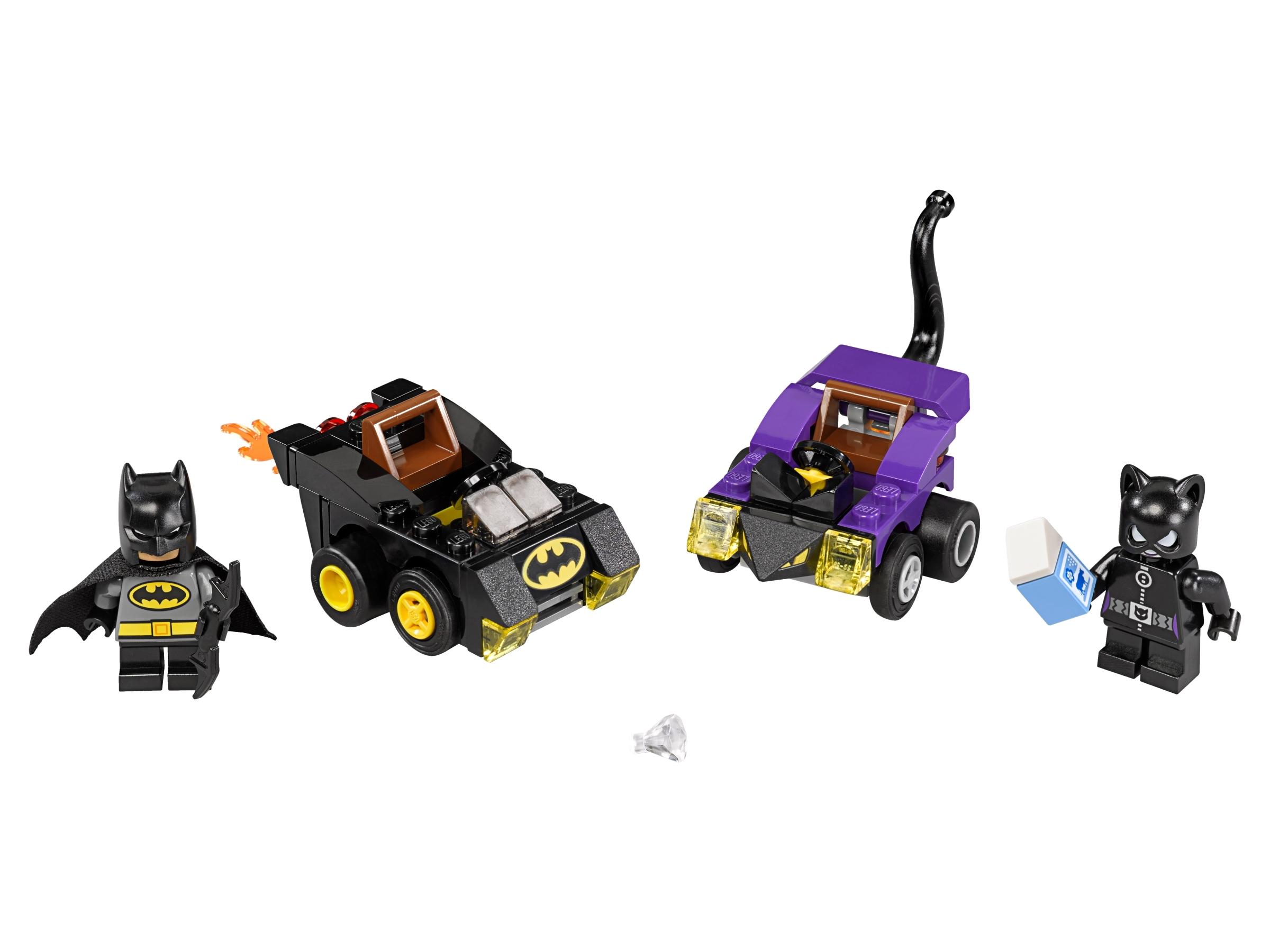 lego mighty micros batman vs catwoman 76061