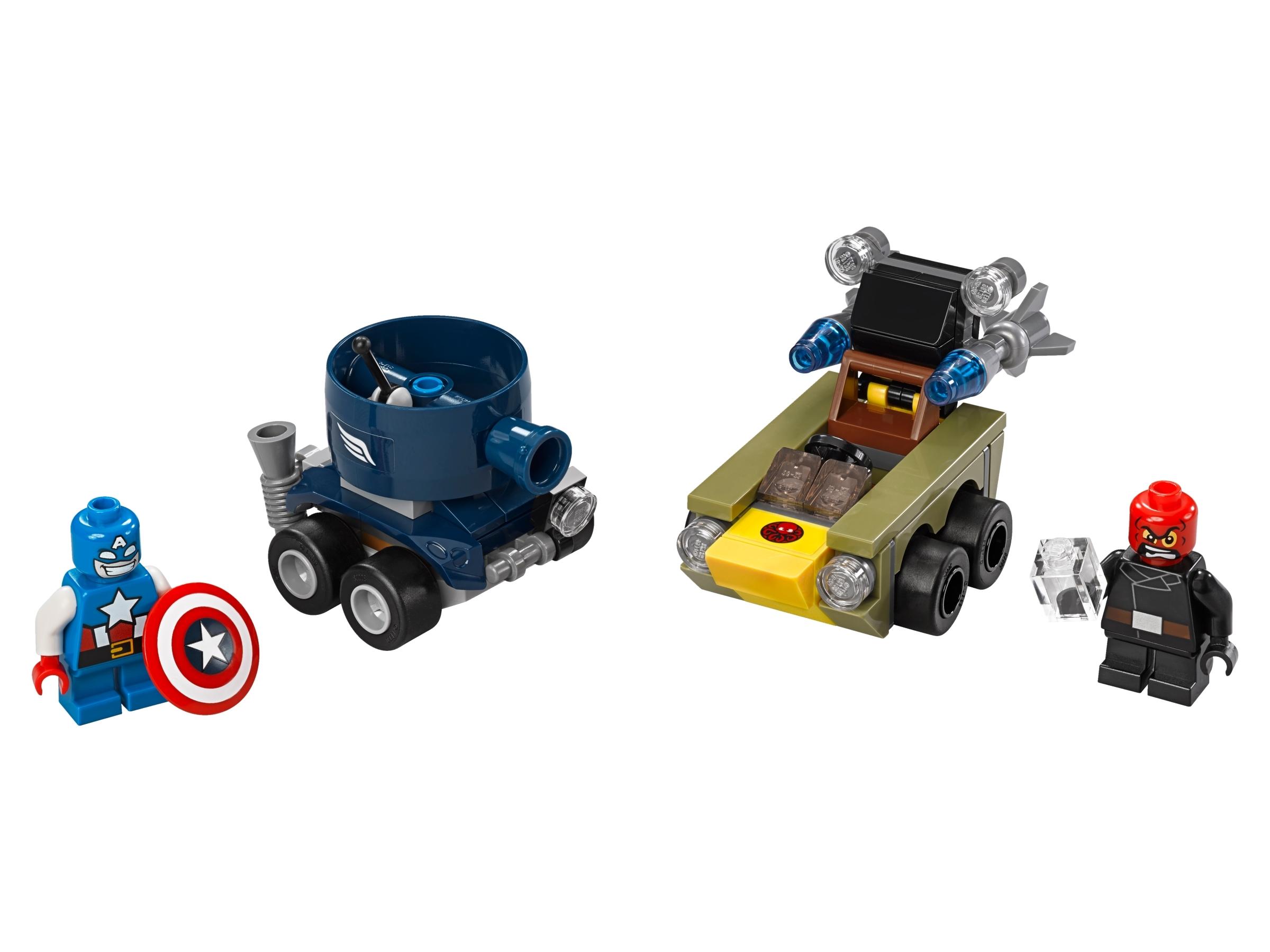 lego mighty micros captain america vs red skull 76065