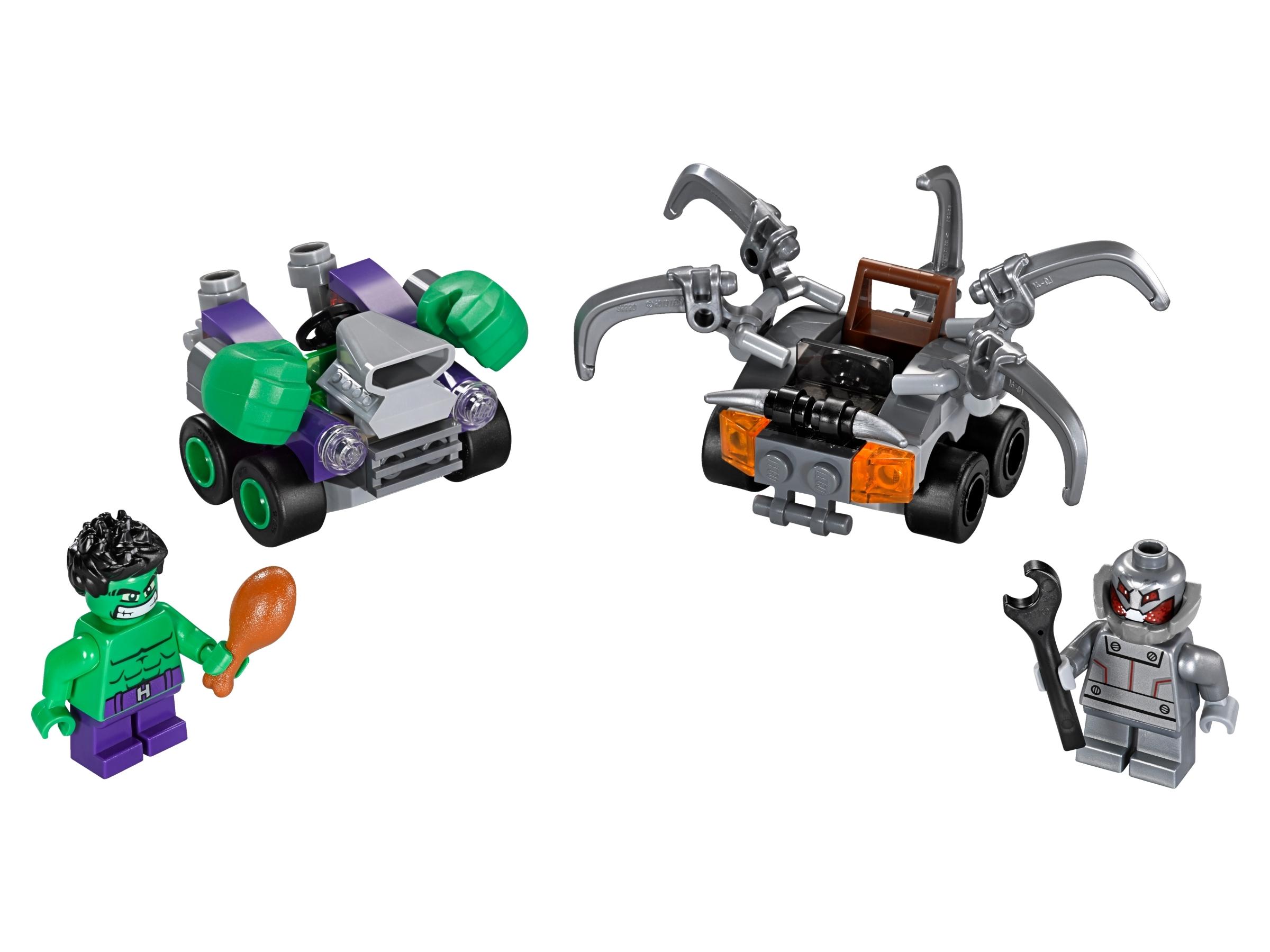 lego mighty micros hulk vs ultron 76066