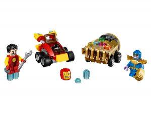 lego mighty micros iron man vs thanos 76072