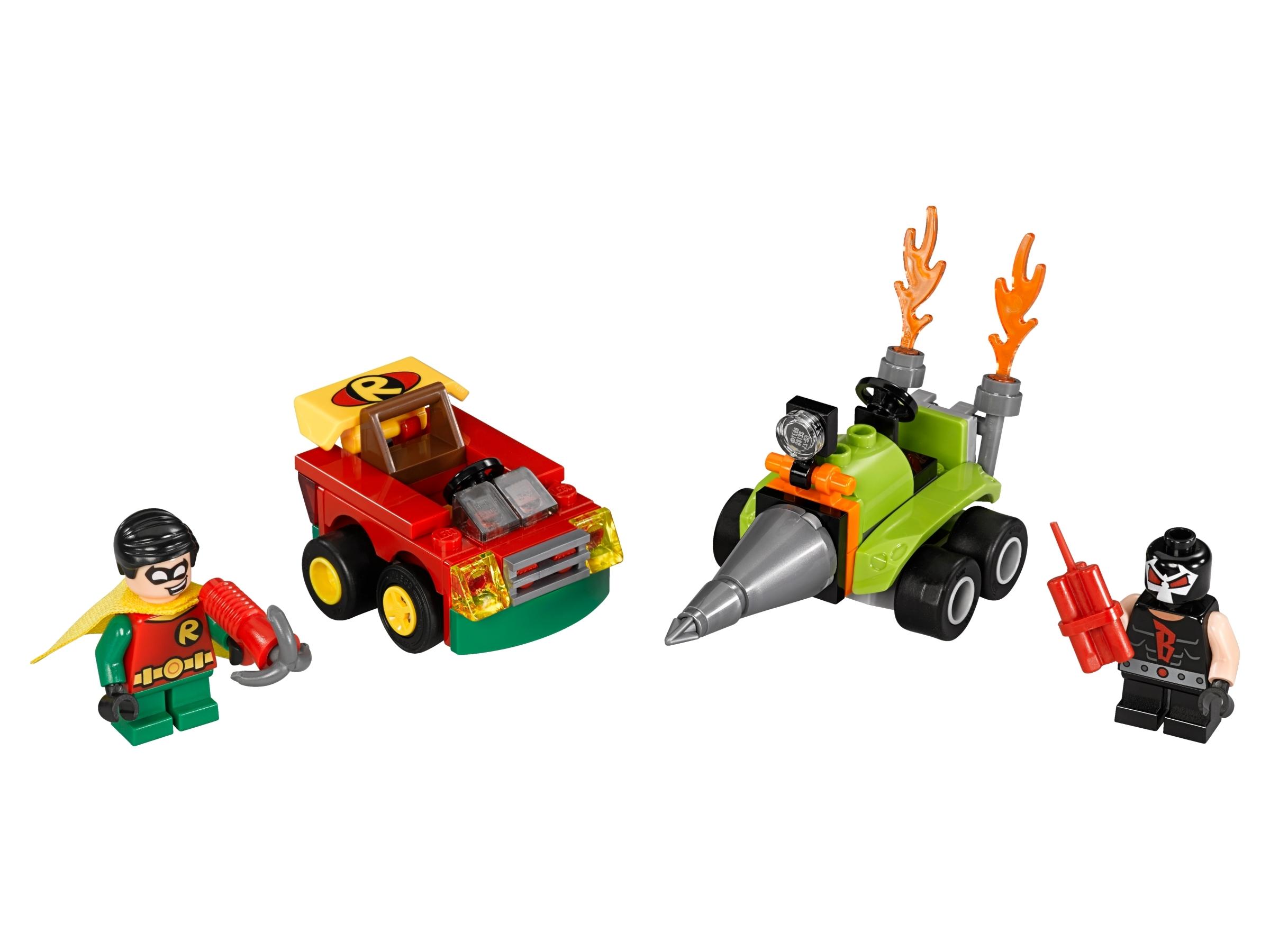 lego mighty micros robin vs bane 76062