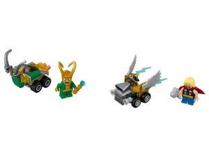 lego mighty micros thor vs loki 76091