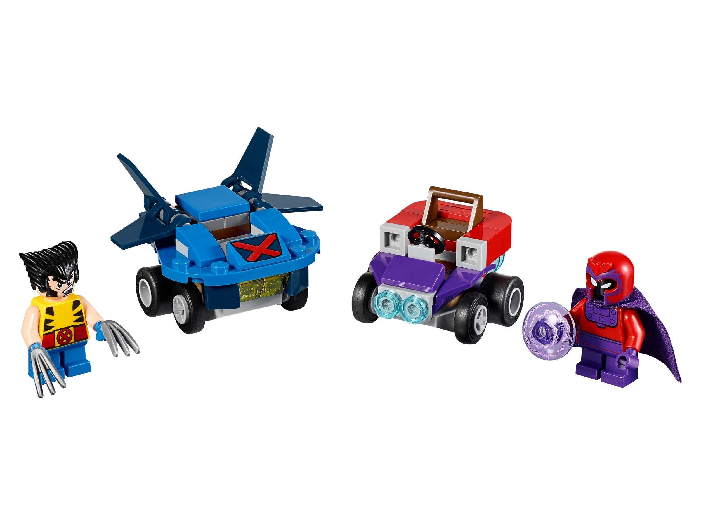 lego mighty micros wolverine vs magneto 76073