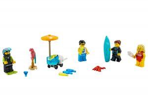 lego minifigurenset zomerpret 40344