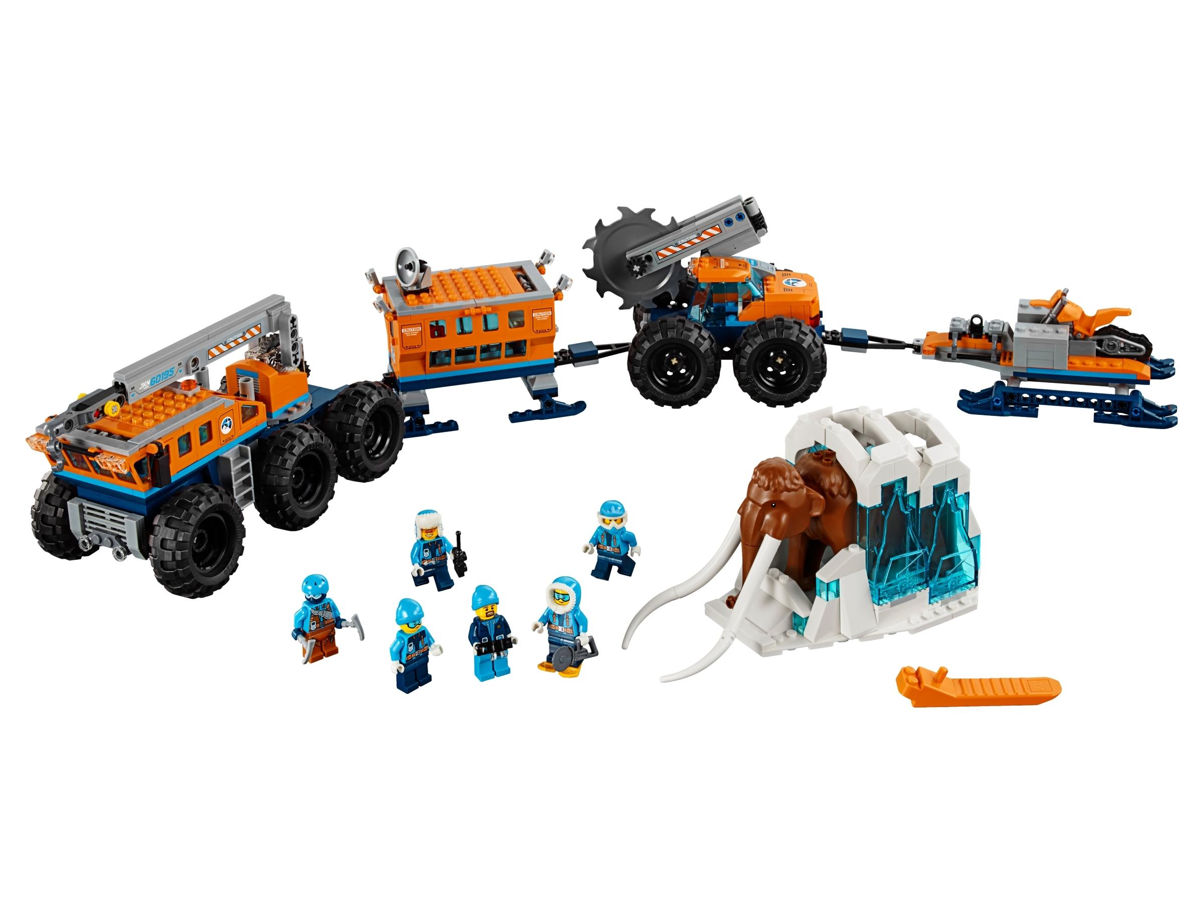 lego mobiele onderzoeksbasis op de noordpool 60195
