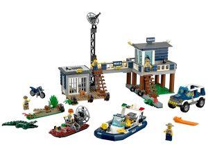 lego moeraspolitie hoofdbureau 60069