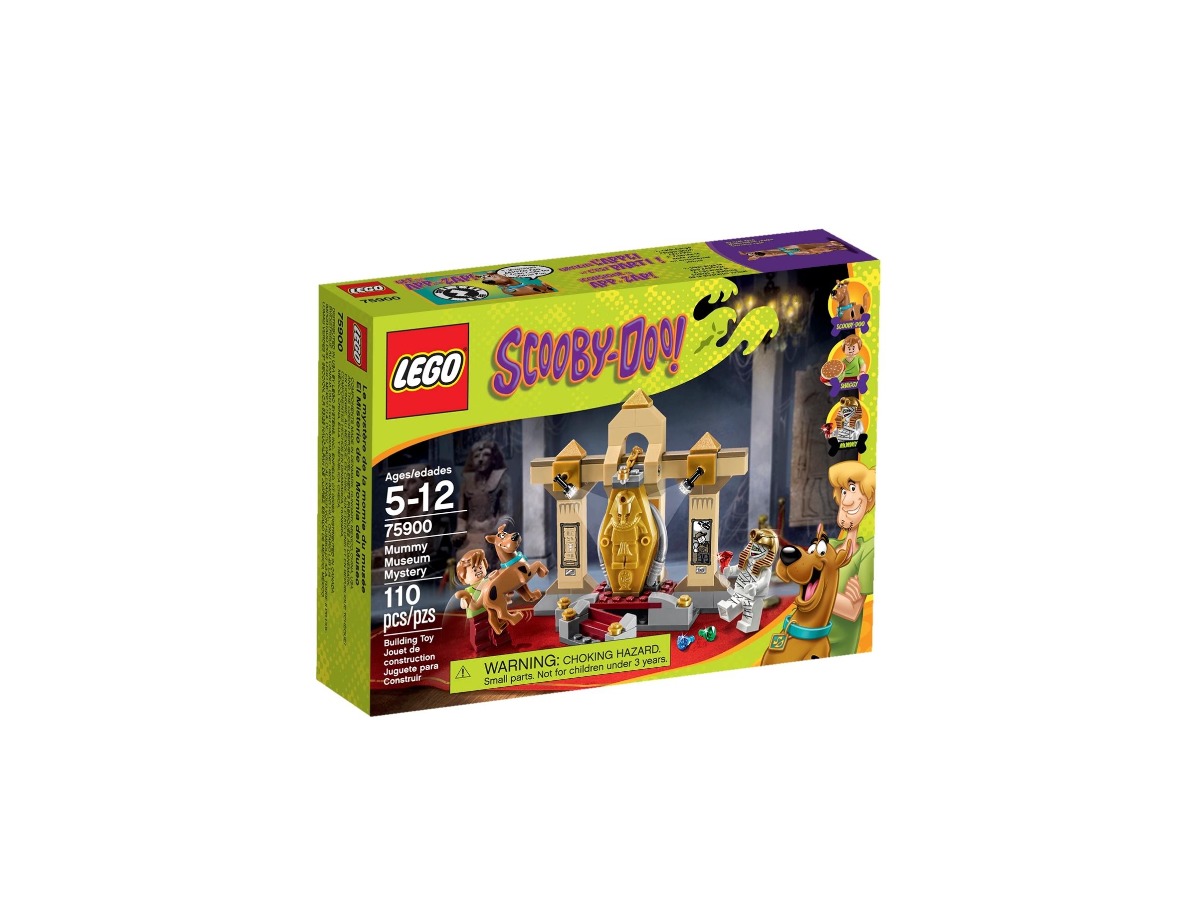 lego mummie museum mysterie 75900