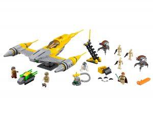 lego naboo starfighter 75092