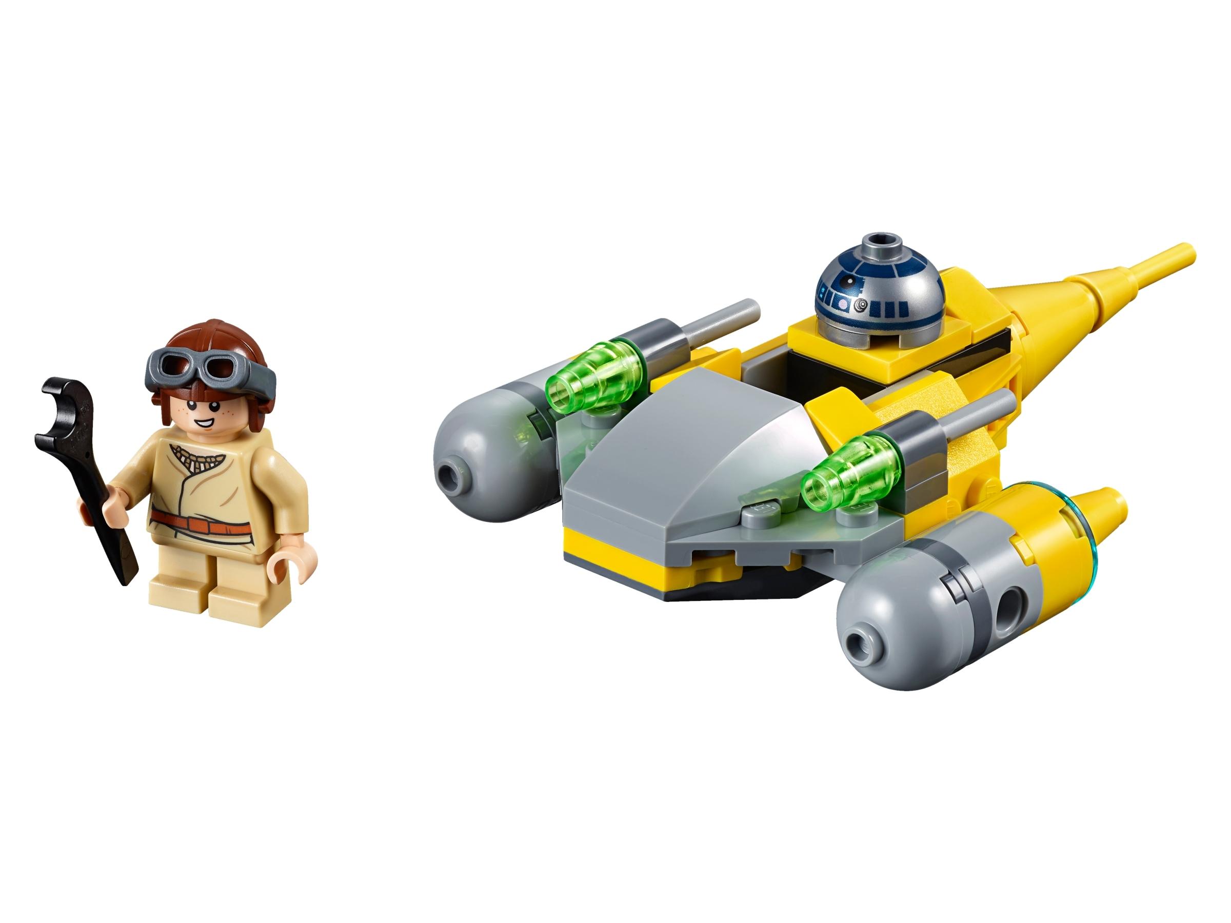 lego naboo starfighter microfighter 75223