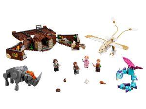 lego newts koffer met magische wezens 75952
