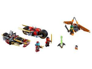 lego ninja motorachtervolging 70600