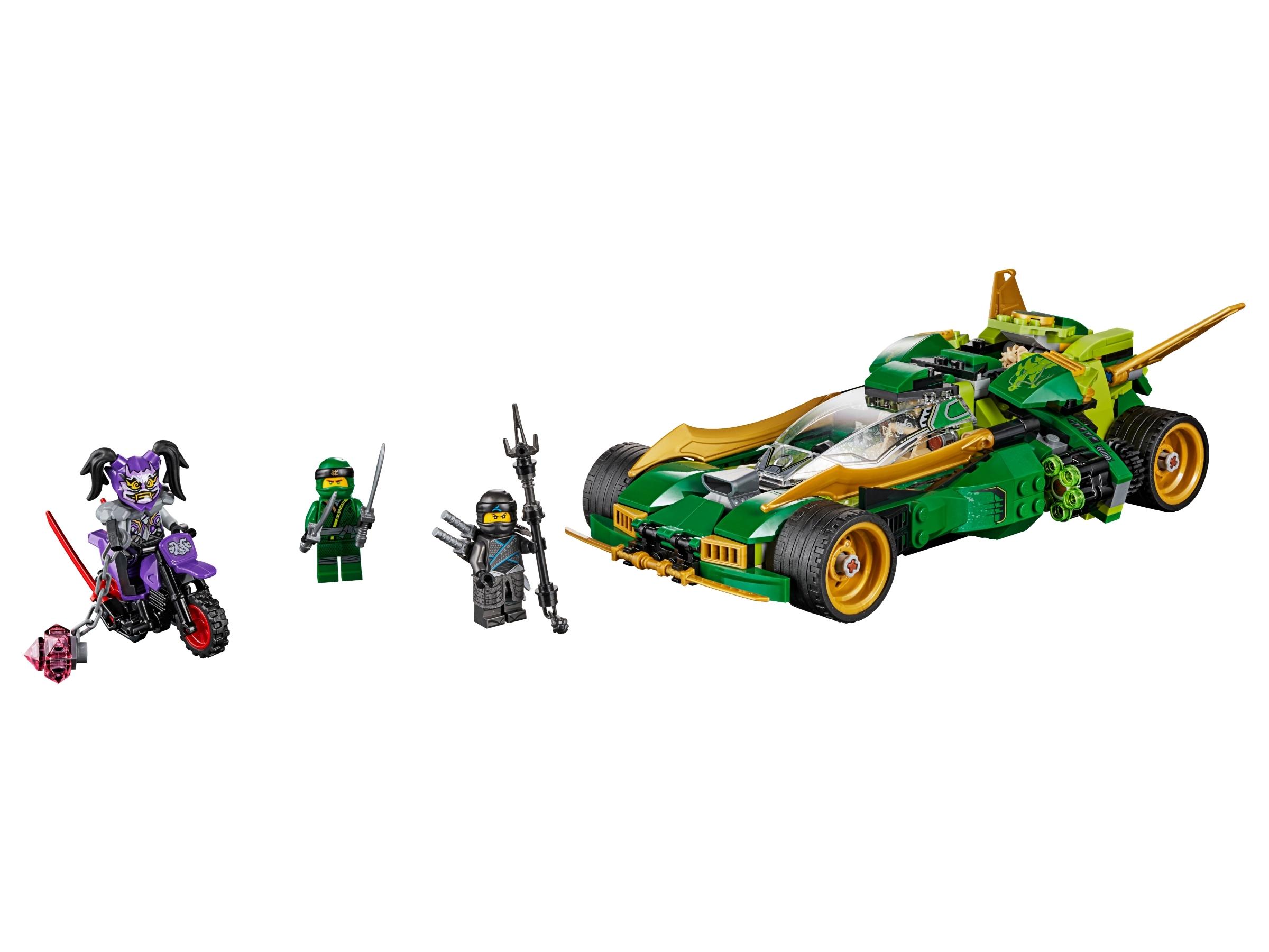 lego ninja nachtracer 70641