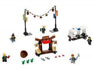 lego ninjago achtervolging door de stad 70607