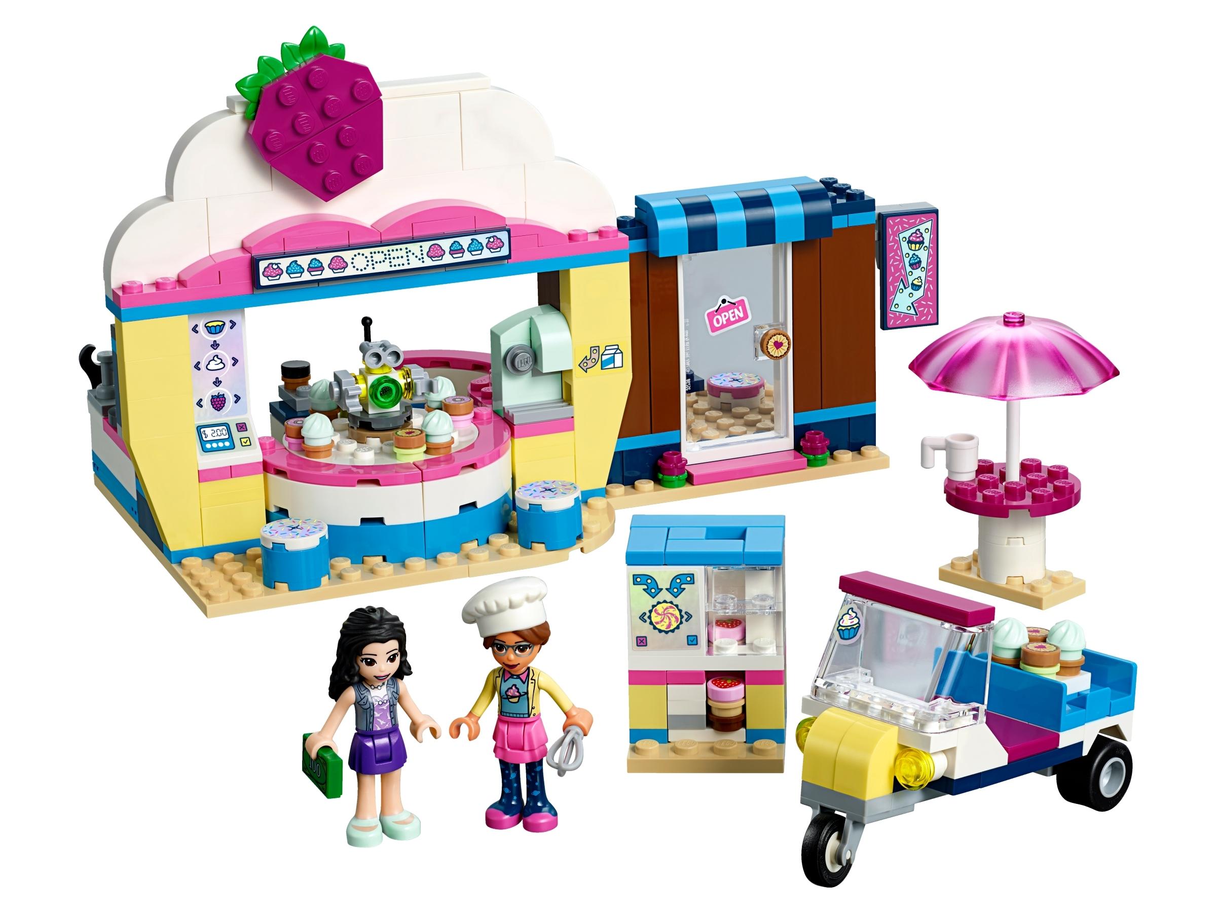 lego olivias cupcake cafe 41366