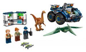 lego ontsnapping van gallimimus en pteranodon 75940