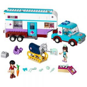 lego paardendokter trailer 41125