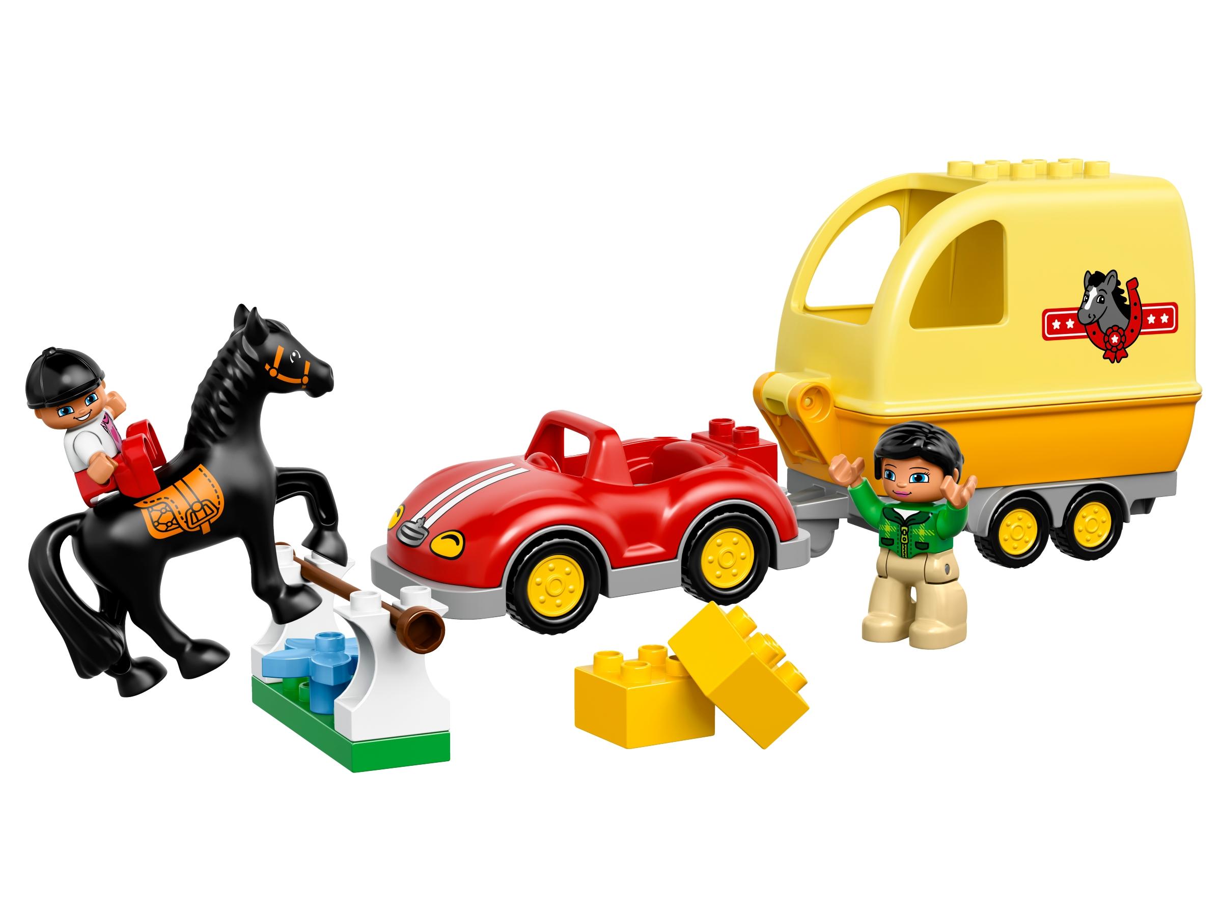 lego paardentrailer 10807