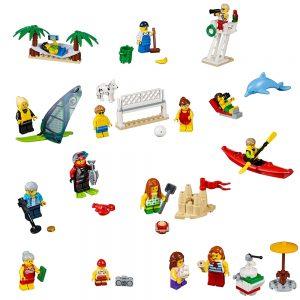 lego personenset plezier aan het strand 60153