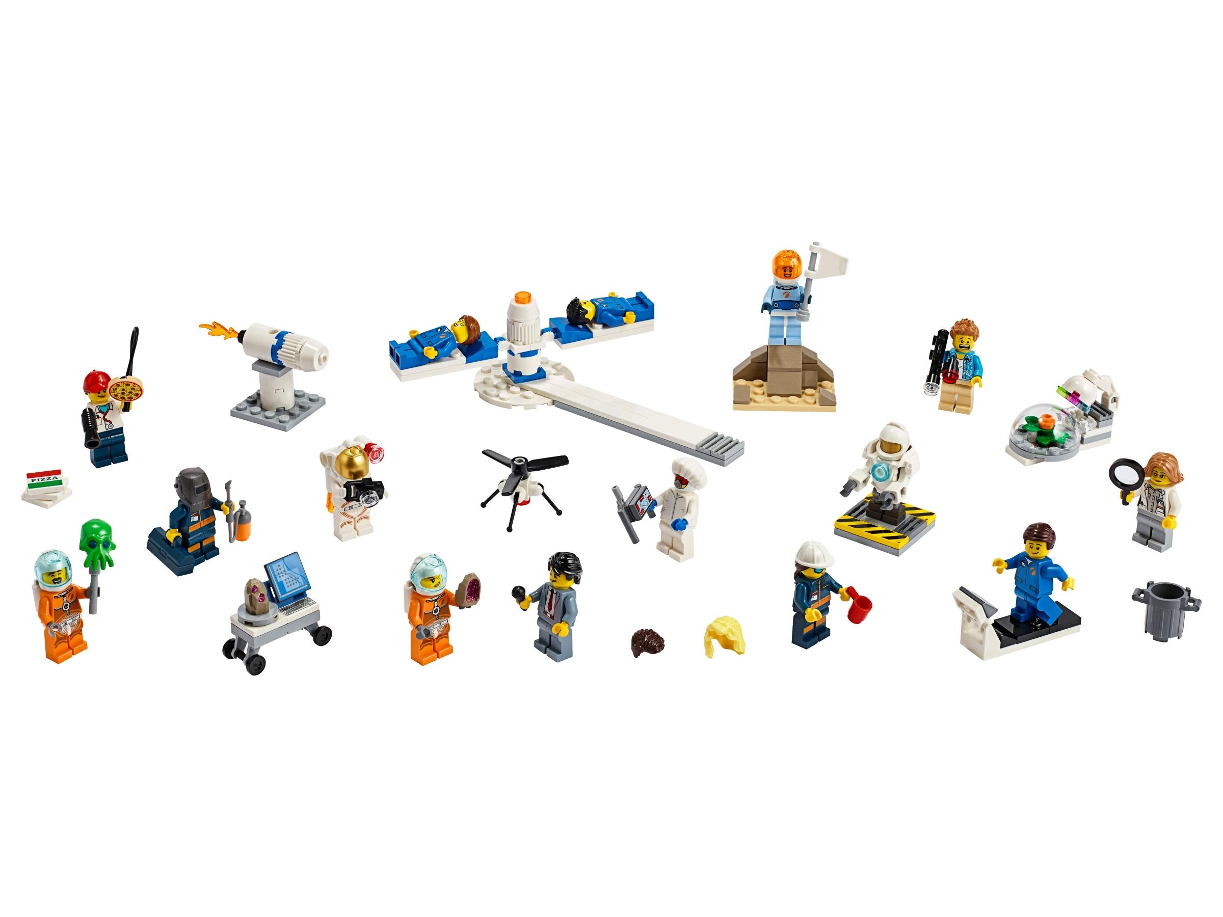 lego personenset ruimteonderzoek 60230