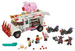 lego pigsys foodtruck 80009