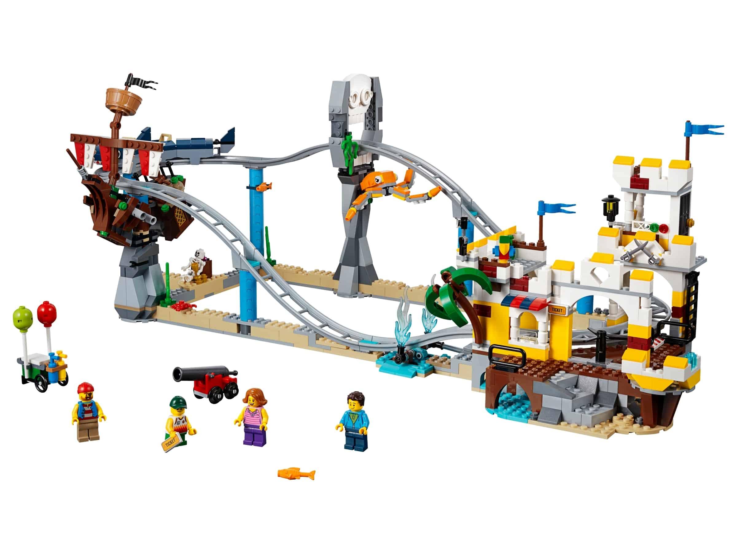 lego piratenachtbaan 31084
