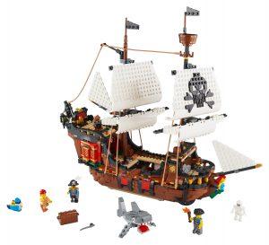 lego piratenschip 31109