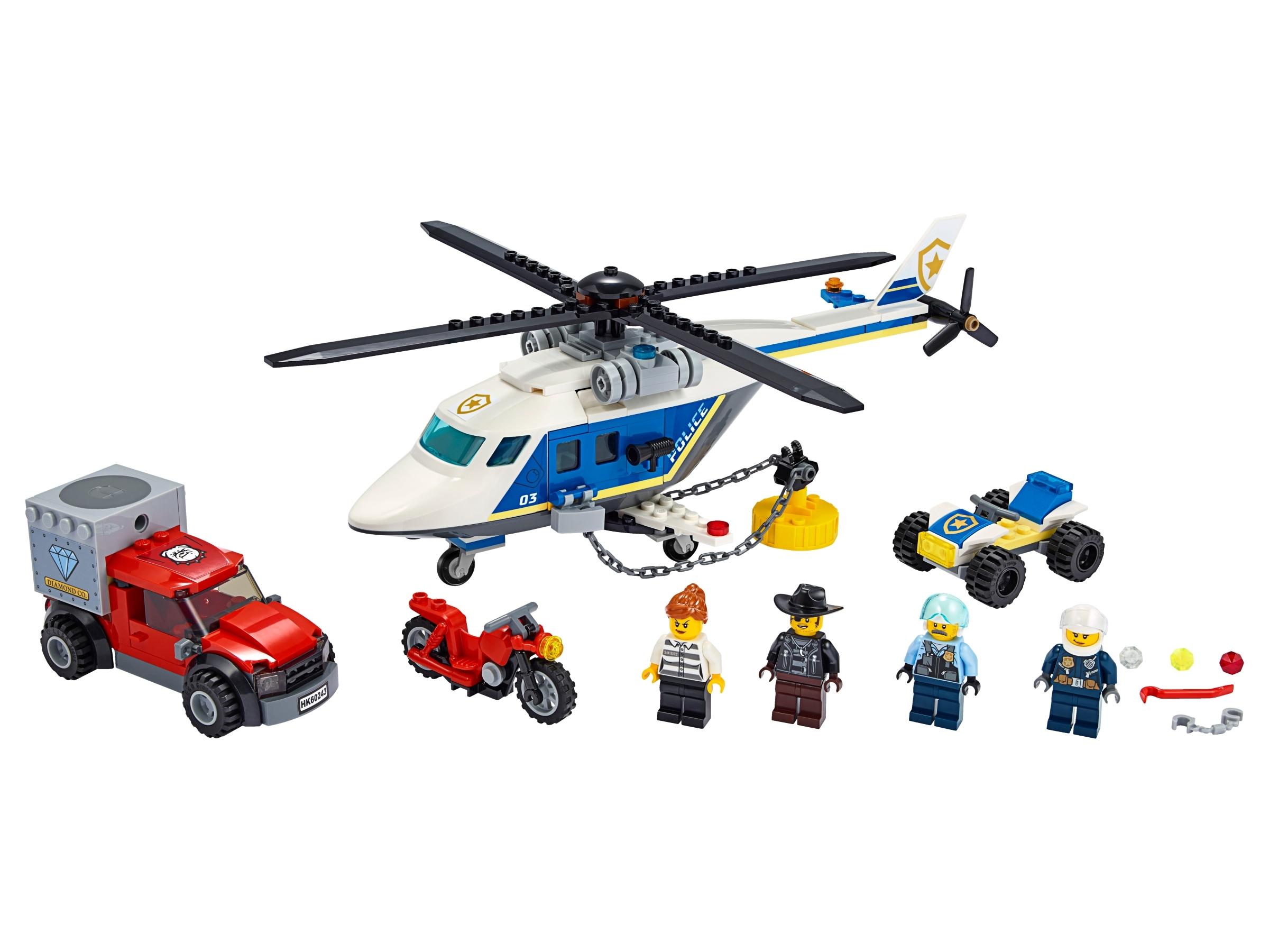 lego politiehelikopter achtervolging 60243