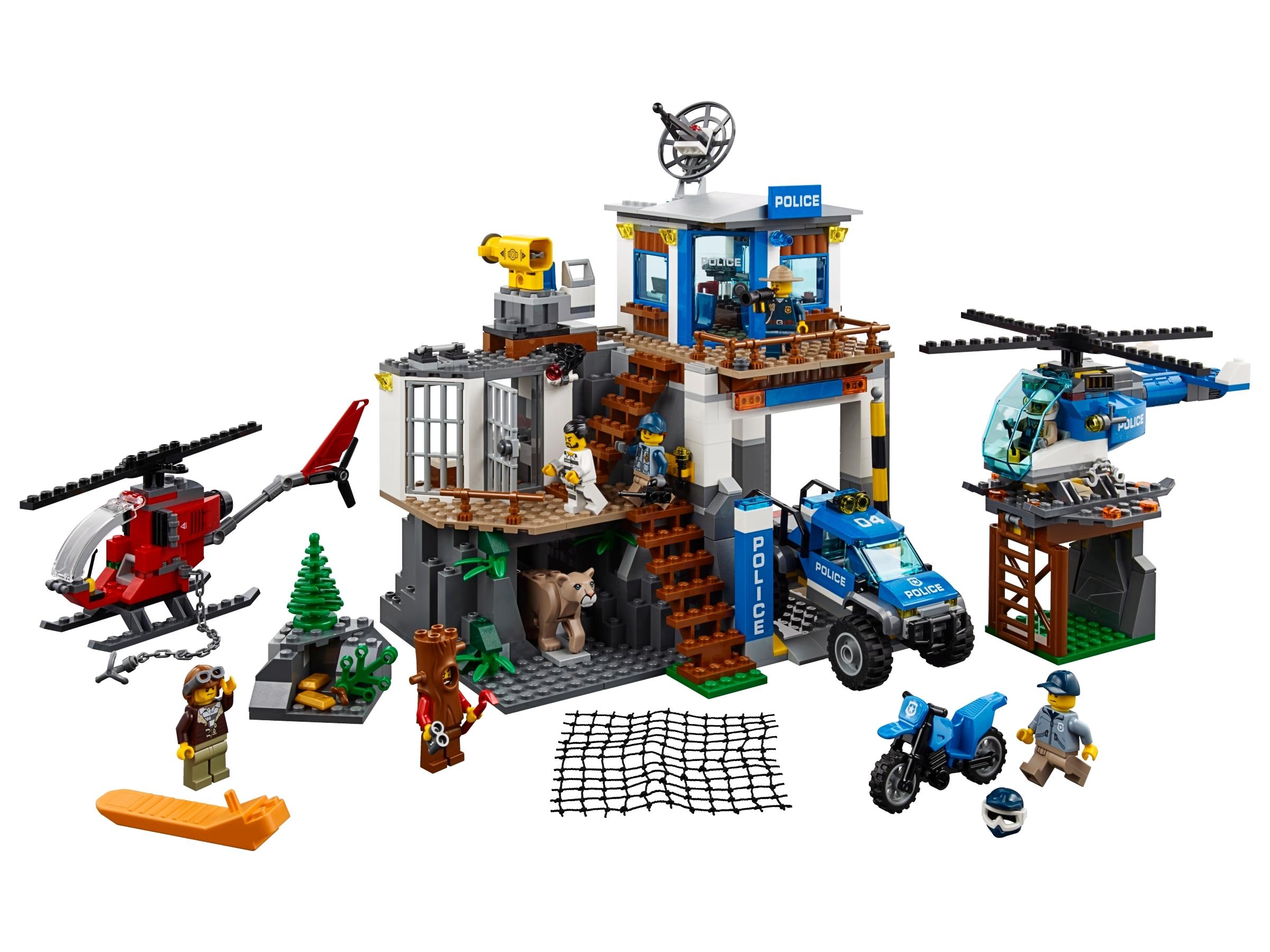 lego politiekantoor op de berg 60174